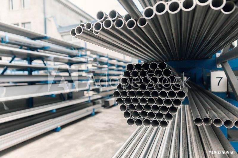 Comercio de tubos de inox