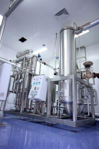 Instalação de tubulação industrial