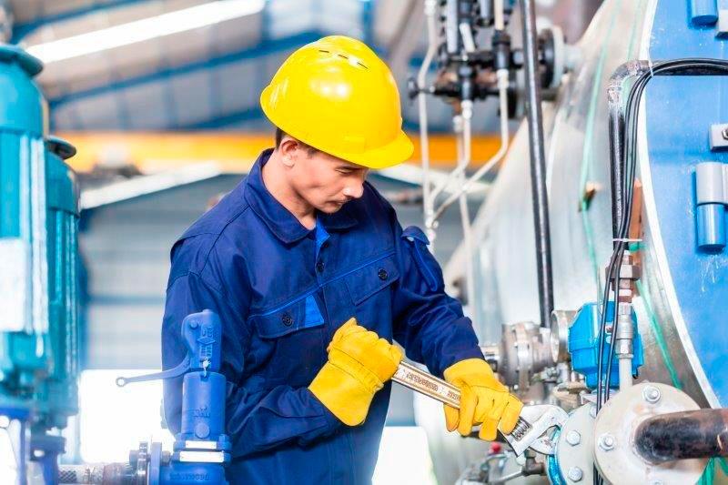 Manutenção industrial em valinhos